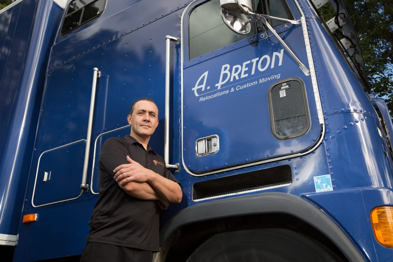 A. Breton owner Adam Breton